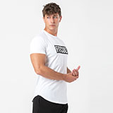 Fitcult T-shirt Basic Line Bianca - uomo - XL