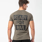Fitcult T-shirt Ready for War Militare - uomo - S