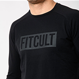 Fitcult Manica lunga Lifestyle - L